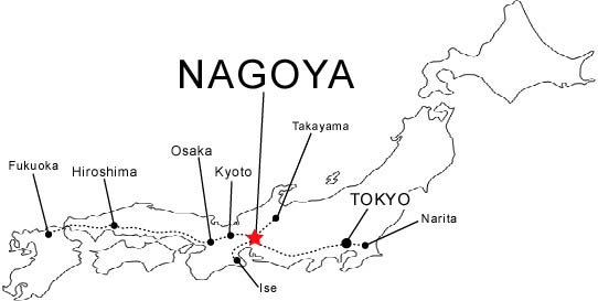 About Nagoya - Where and what?
